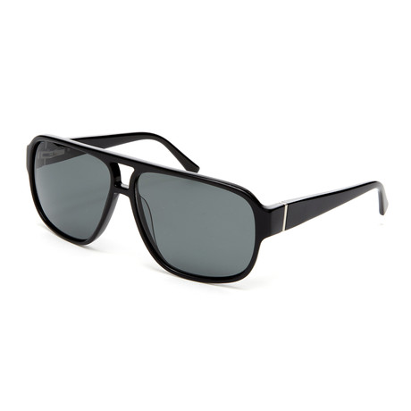 Men's Capri Navigator Polarized Sunglasses // Black
