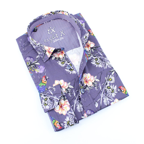 Hatch Button-Up Shirt // Multicolor (S)