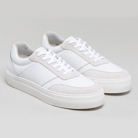 Now V3 Sneakers // White + Bone (Euro: 40)
