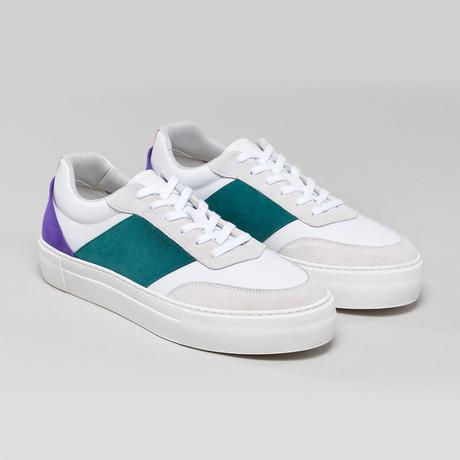 Now V4 Sneakers // Emerald Green + Bone (Euro: 40)