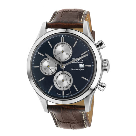 Gevril West 30th St Chronograph Swiss Automatic // 46106.5