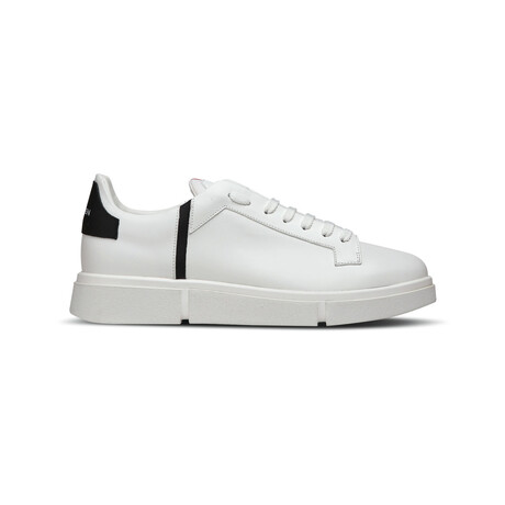 Matt Six Sneaker // White + Black (Euro: 39)