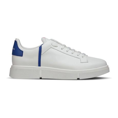 Matt Five Sneaker // White + Cobalt (Euro: 39)