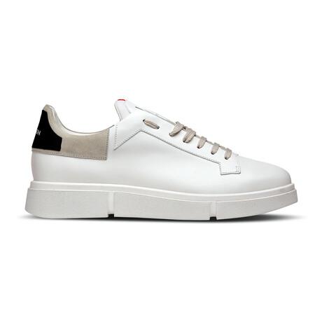 Lezy Sneaker // White + Ice + Black (Euro: 39)