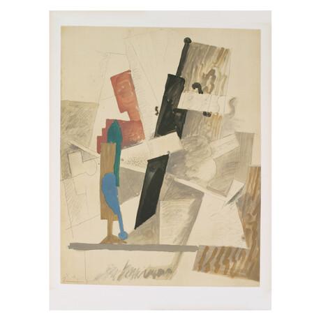 Pablo Picasso // Papiers Colles-Dessins // 1966 Lithograph