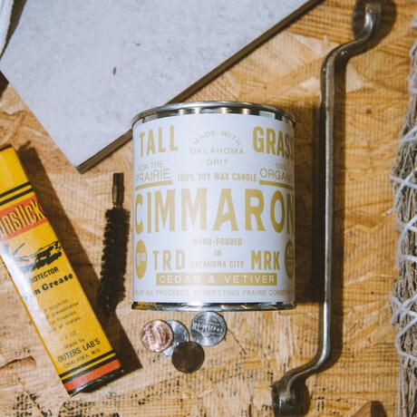 Cimmaron // Soy Wax Candle (4oz)