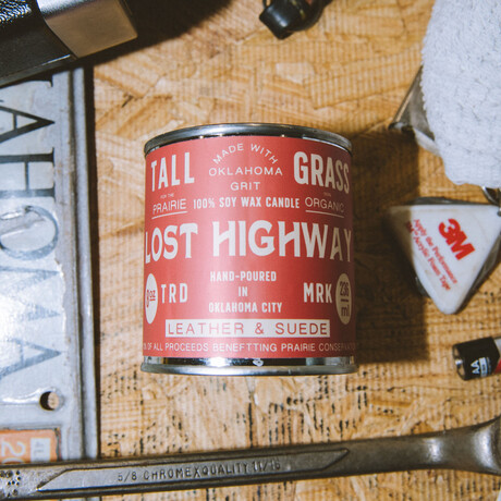 Lost Highway // Soy Wax Candle (4oz)