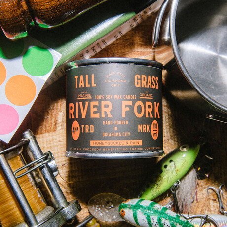 River Fork // Soy Wax Candle (4oz)