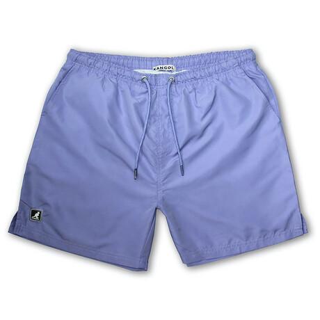 Solid Swim Short // Faded Lavender (S)