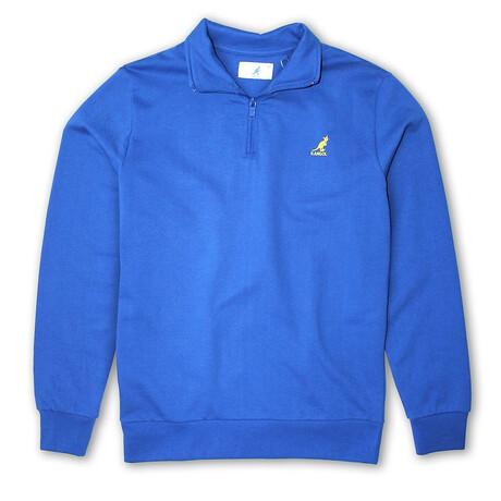 1/4 Zip Fleece Pullover // North Star (S)