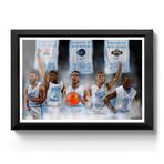 "North Carolina Basketball // Roy Williams Point Guard Dream Team // Art Print (16""H x 24""W)"
