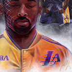 "Kobe Bryant // Mamba Mentality // Art Print (16""H x 20""W)"