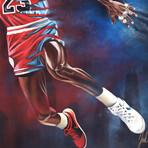 """Michael Jordan // Goat Legacy // Art Print (16""""H x 20""""W)"""