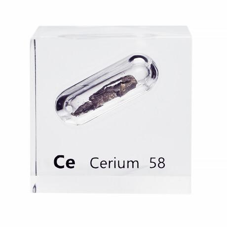 Lucite Cube // Cerium