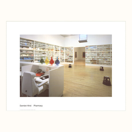 Damien Hirst // Pharmacy // 2003 Offset Lithograph