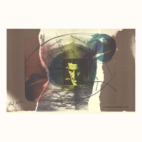 Paul Jenkins // Beckett Festival // 1978 Offset Lithograph