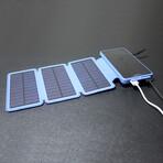 Solar Battery Charger // 25000 mAh Power Bank // Blue