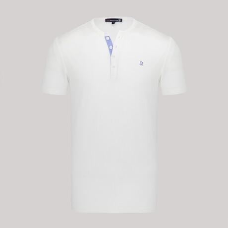 Steph Short Sleeve Shirt // White (XS)