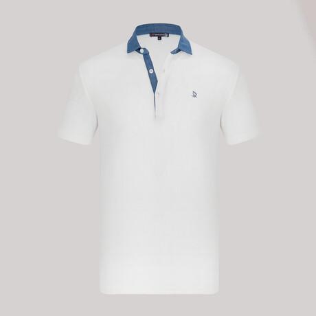 Milan Short Sleeve Polo Shirt // White (XS)