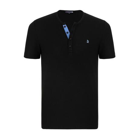 Clay Short Sleeve Shirt // Black (XS)