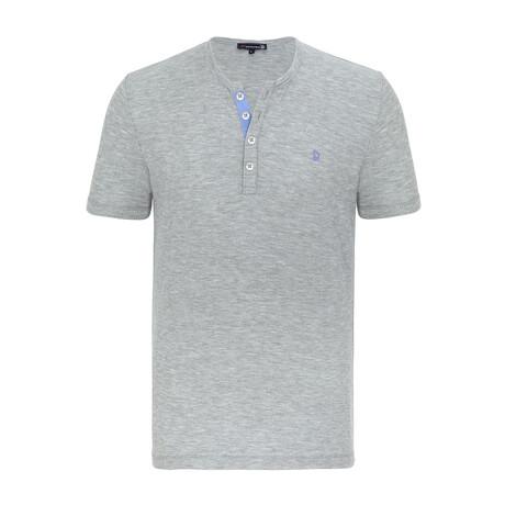 Presidio Short Sleeve Shirt // Gray Melange (XS)