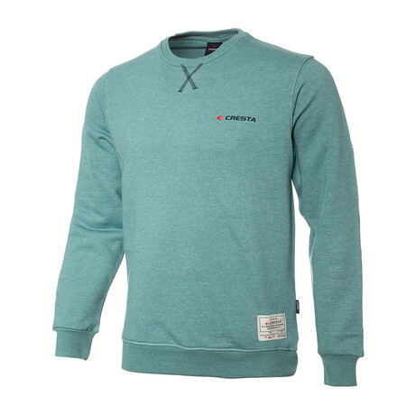 Alexander Basic Sweatshirt // Green (S)