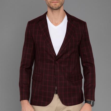 Positano Blazer Jacket // Bordeuax (S)