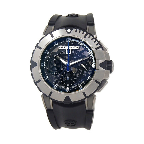 Harry Winston Ocean Sport Chronograph Automatic // OCSACH44ZZ001 // Pre-Owned