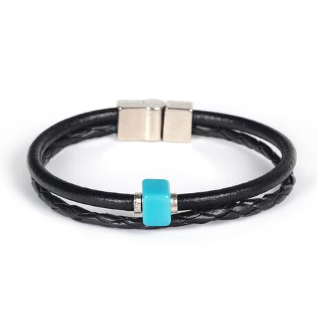 Rowe Bracelet // Black + Blue
