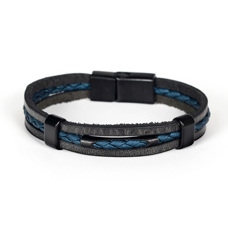 Kudus Bracelet // Black + Blue