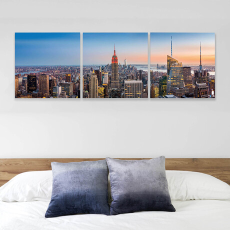 """Empire State Building (20""""H x 60""""W x 1""""D)"""