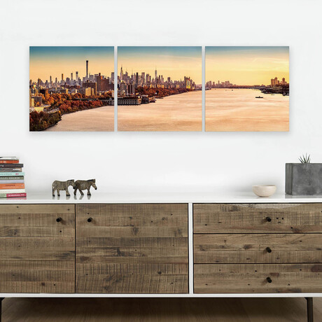 """Hudson River (20""""H x 60""""W x 1""""D)"""
