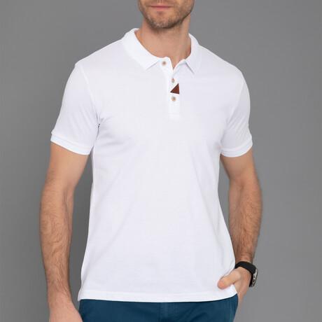 Gerald Short Sleeve Polo // White (S)