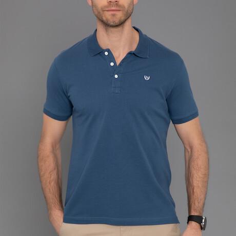 Ely Short Sleeve Polo // Marine (S)