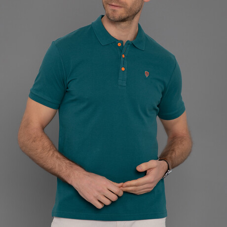Kent Short Sleeve Polo // Green (S)