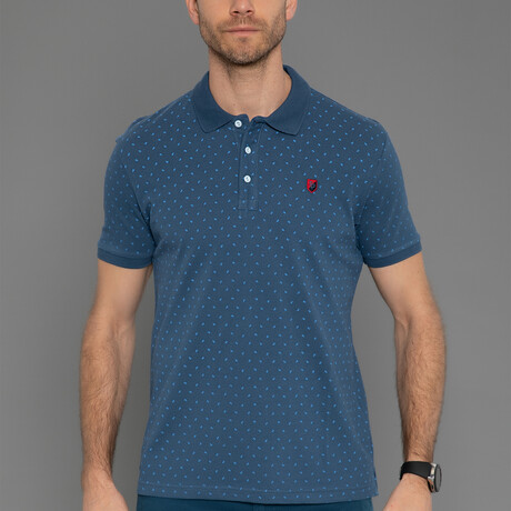 Dominic Short Sleeve Polo // Marine (S)