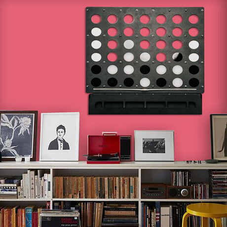 Connect Four Wall Game