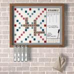 Scrabble Wall Deluxe Vintage