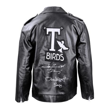 Olivia Newton-John + John Travolta // Autographed Grease T-Birds Deluxe Jacket