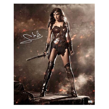 Gal Gadot // Autographed Wonder Woman Photo