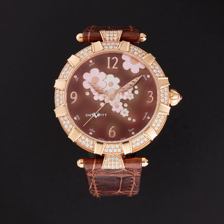 Dewitt Ladies Golden Afternoon Automatic // GA.AU.001 // Pre-Owned