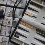Travel Backgammon Set (Red)