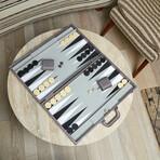 Onyx Backgammon Set (Black)
