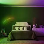 RGB Modern Curve Lamp