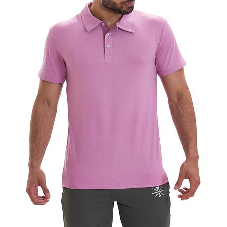 Bunker Short Sleeve Active Polo // Light Purple (S)