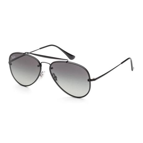 Ray-Ban // Unisex RB3584N-153-11 Sunglasses // Demi Gloss Black + Gray Gradient + Dark Gray