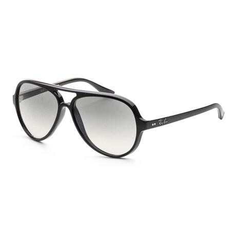 Men's RB4105-710-51 Sunglasses // Black + Crystal Gray Gradient