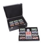 Carbon Fiber Series Poker Set // 500 Chips