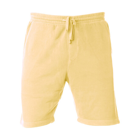 Pigment Dyed Shorts // Yellow (S)