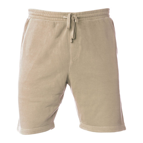 Pigment Dyed Shorts // Sand (S)